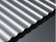 Corrugated Aluminium Sheet - GA AA21 Natural Anodised