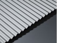 Corrugated Aluminium Sheet - GA AA35 Natural Anodised
