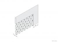 Balustrade Panel Frame Detail - GA BP25