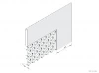 Balustrade Panel Frame Detail - GA BP40