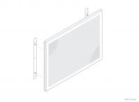 Aluminium Counter / Desk Panel (Secret Fix) - GA CD1