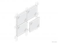 Aluminium Counter / Desk Panel (Vertifix) - GA CD2