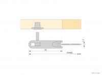 Aluminium Framed Panels - Secret Fixings - GA IFFP 351