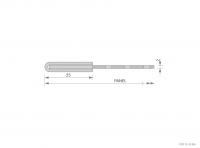 Framed Aluminium Panel Cross-Section Detail - GA SFP252