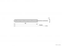 Framed Aluminium Panel Cross-Section Detail - GA SFP401