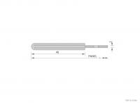 Framed Aluminium Panel Cross-Section Detail - GA SFP402