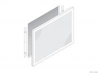 Perforated Radiator Cover Panel - Ver-T Fix - GA RC2