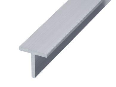 Aluminium Tee - GA 0500 Mill (untreated)