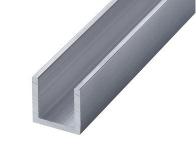 Aluminium Channel - GA 0400 Mill (untreated)