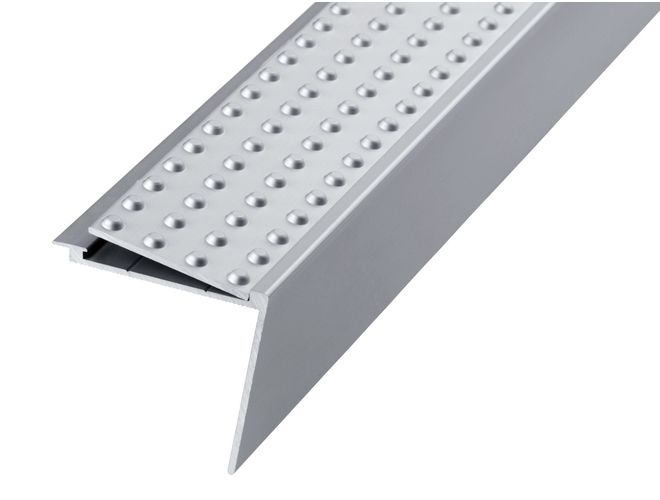 Stair Nosing - GA 1326s Natural Anodised