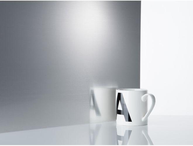 Plain Aluminium Sheet (reflection) - GA 1538