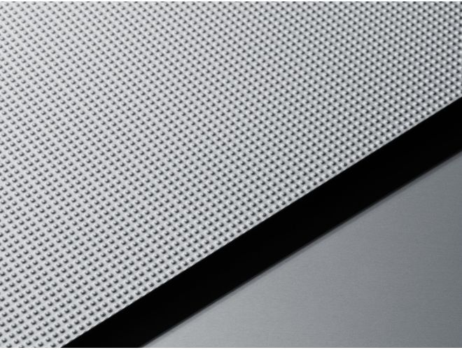 Textured Aluminium Sheet - GA VXS21 Natural Anodised