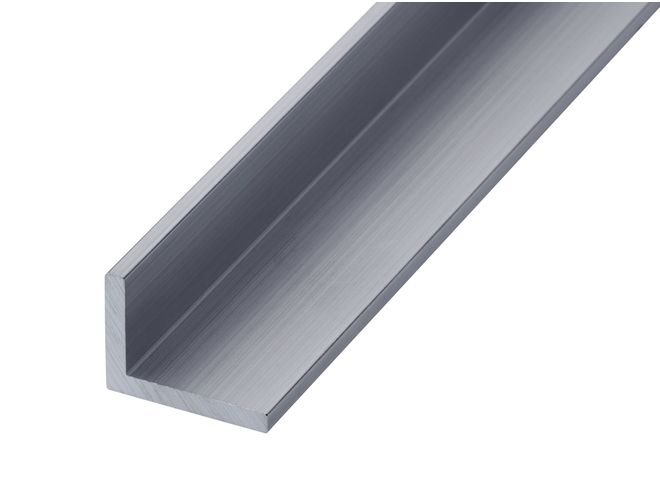 Aluminium Unequal Angle - GA 0303 Mill (untreated)