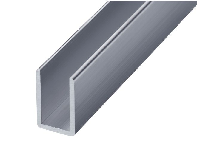 Aluminium Misc Channel - GA 1009 Mill (untreated)