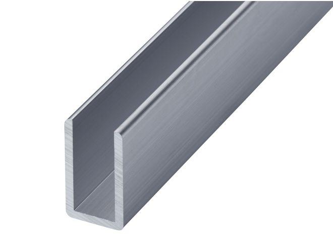 Aluminium Misc Channel - GA 1010 Mill (untreated)