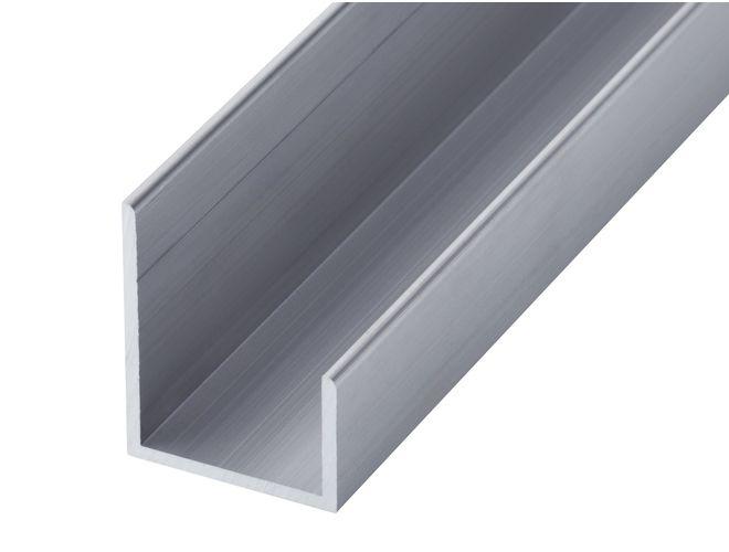 Aluminium Misc Channel - GA 1016 Mill (untreated)