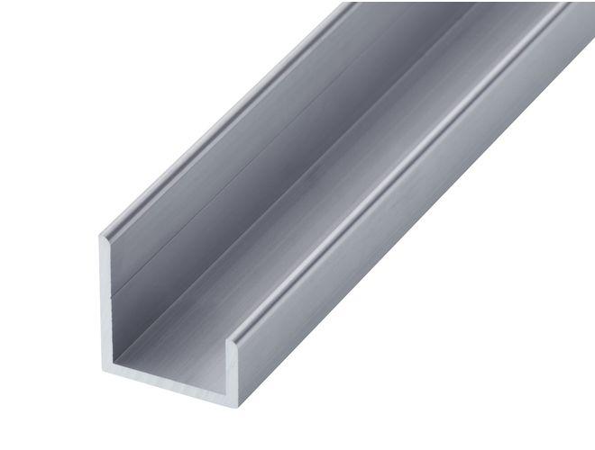 Aluminium Misc Channel - GA 1017 Mill (untreated)