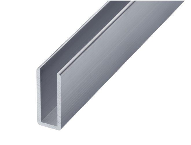 Aluminium Misc Channel - GA 1025 Mill (untreated)